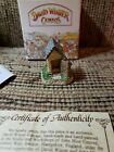 David Winter Cottages J. Hine Ltd The Privy Cameo Collection 1991 Box and COA