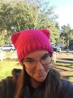 Cute Crochet Super Soft Beanie/ Hat with Cat Ears - Any Color - (fits most)