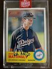 2019 TOPPS: DON MATTINGLY ARCHIVES SIGNATURE AUTO # 17