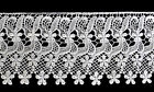 35 White Floral Embroidered Venise Lace Trim Flower Guipure Trimming By Yard