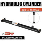 Hydraulic Cylinder For Loader Welded Double Acting 15 Bore 24 Stroke 15x24