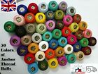 50 ANCHOR pearl Cotton Balls Strong Embroidery Thread JP Coats  UK