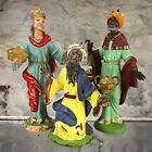 FONTANINI WISE MEN 3 KING 4 5 6 NATIVITY FIGURE SET LOT ITALY DEPOSE SPIDER MARK