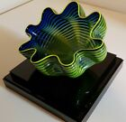 Dale Chihuly Neptune Blue Seafoam 2011 Glass Signed Sold Out Edition