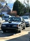 1986 Ford Mustang SVO 1986 Ford Mustang SVO Black with Leather interior, 17,650 miles No Reserve