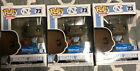 Lot Of 3 Funko Pop #73 Michael Jordan North Carolina UNC Walmart Exclusive HTF!!