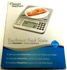 EUC Weight Watchers Electronic Food Scale PointsPlus ValuesNS25A Box + Manual