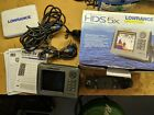 LOWRANCE HDS 5X FISH FINDER DEPTH FINDER