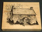 Limited Edition COLONIAL HOUSE 1995 PSX Rubber Stamp HEIRLOOM COLLECTION Vintage