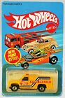 Hot Wheels Vintage Emergency Squad Truck 9529 New NRFP 1982 Yellow 164
