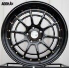 18X95 +30 Aodhan Ah04 5X1143 Black Rim Fits Lexus Is250 Is350 Gs300 Gs350 TL
