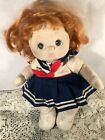 Vintage My Child Doll red Hair green Eyes
