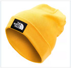 NWT The North Face DOCK WORKER RECYCLED BEANIE hat, FLY YELLOW