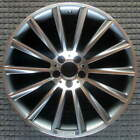Mercedes Benz CLS550 Compatible Replica Machined w Charcoal Pockets 20 inch Whe