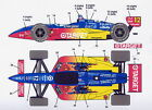 1/25 indy CART decal Superman Michigan 500/F1