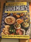 Vintage 1995 Weight Watchers Quick Meals in 30 Minutes or Less Cookbook