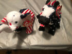 RETIRED!!!! Authentic TY Political Beanie Babies (RARE): Lefty & Righty (2000)