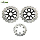 For Ducati Monster 696 750 800 1000 Front Rear Brake Rotors Discs SS SuperSport