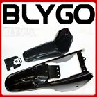 BLACK Plastic Fender Kit Body Cover Fairing Yamaha PW80 PY80 PEEWEE 80 DIRT Bike