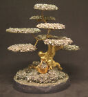 98mm 46OZ Natural Solid Pyrite Crystal Cluster Carving Art Tree