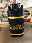 Vintage  Restored SUNOCO Embossed 10 Gallon Oil Can In Excellent Condition