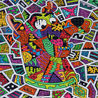 Scooby Doo by Areh BLOTTER ART perforated sheet psychedelic paper trippy art tab