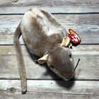 TY Beanie Baby TIPTOE THE MOUSE 1999 PE Pellets ERRORS Hang Tag Tush Tag Rat