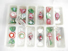 Glass Candy Christmas Ornaments Murano Style