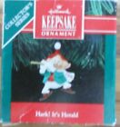 Hallmark 1991 Ornament - HARK! IT'S HERALD - 3rd in Series - Pre-Owned