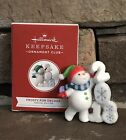 Hallmark 2018 Frosty Fun Repaint Ornament Club Signing Event Gift