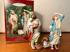 2000 Hallmark Keepsake Ornament THE SHEPHERDS Blessed Nativity Collection NIB