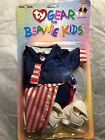 TY Gear UNCLE SAM New Clothies for TY Beanie Kids New In Package