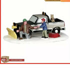 Lemax Christmas Village Collection Snow Plow Father Son Dog Decor Collect NEW!