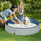 47 63 Foldable Dog Pet Kids Bath Swimming Pool Large Collapsible Bathing Tub