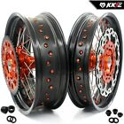 KKE 3.5/5.0*17 Supermoto CUSH Drive Wheels Rim Fit KTM690 Enduro R 2019 300 Disc