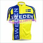 Customized 2019 cycling jersey yellow Sweden team clothing pro team bike wear
