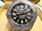 BREITLING SUPEROCEAN CHRONOMETRE 1500M (5000 FT) DIVER WATCH – WITH BOX & PAPERS