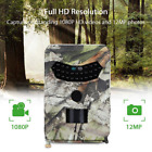 Outdoor Hunting Trail Cameras Video 12MP 1080P IR Night Vision Wildlife Scouting