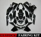 Vivid Black Fairing Kit For Kawasaki Z1000 2010-2013 2012 ABS Injection Bodywork