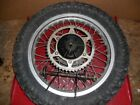 1983 HONDA XL250R REAR WHEEL  #3035