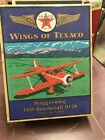 Wings of Texaco 1939 Beechcraft D17S STAGGERWING, #12 in Series Diecast Airplane