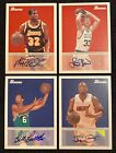 Lot Of Bowman 48 AUTOGRAPH Bill Russell LARRY BIRD Jerry West MAGIC Dwyane Wade