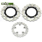 Front Rear Brake Discs Rotors For Yamaha TMAX XP530 ABS 12-17 IRON LUX MAX 2016