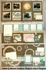 Scrapbook 6 page Family Baking 12x12 Layout Pre cut