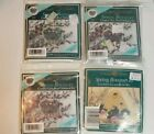 LOT of 4 Mill Hill Counted Bead Cross Stitch KITS