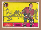 1968-69 O-PEE-CHEE, #16, BOBBY HULL, NRMT++ to NM-MT CONDITION.
