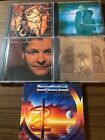 5 Lot Of Bryan Duncan CD'S Including the rare Sweet Comfort Band Perfect Timing.