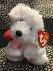 ~ty ORIGINAL BEANIE BABIES  ~ LOVEYPUP Terrier Dog March 2, 2007 6-inch w/TAGS