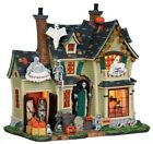 Lemax Spooky Town Scariest Halloween House #25330 ~ Rare/Retired Creepy Village