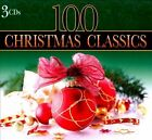 100 CHRISTMAS CLASSICS (3 CDs) Steven Anderson Audio Discs  SEALED